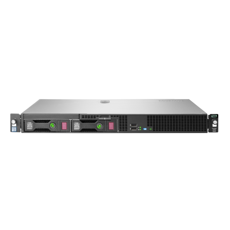 HPE ProLiant DL20 Gen9 Intel Xeon E3-1240v6 Quad-Core (3.70GHz 8MB)