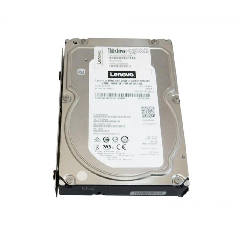 LENOVO Lenovo ThinkServer TS450 3.5 500GB 7.2K Enterprise SATA 6Gbps Easy Swap HDD